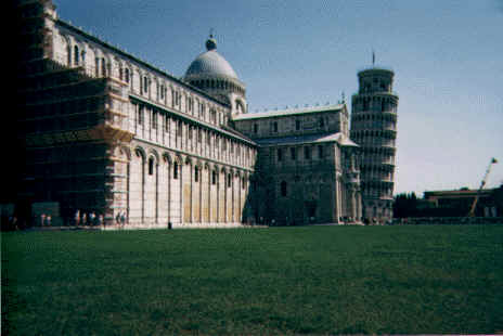 Pisa - Duomo and tower